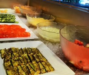 Restaurant buffet neuchatel